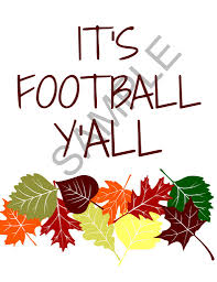 cute football printable for your next football party keeping
