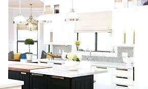 White Kitchen Cabinets With Black Hardware Black Hardware For Kitchen Cabinet Black And White Herringbone
