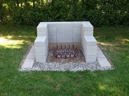 Fire Pit Backyard The Cheap Cinder Block Fire Pit Interior Design Ideas And Galleries