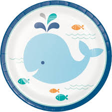 my whale party dessert plates whale party whale theme baby