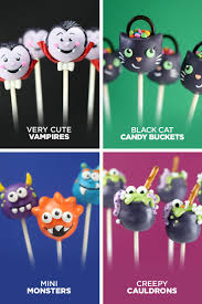 Mini Halloween Cakes by Cake Pops Halloween U2013 Bakerella Com