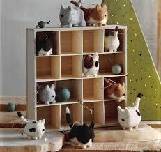 roost cat ornaments set of 10 modish store