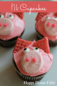piggy cupcakes and happy baby u0027s 3rd birthday happy home fairy