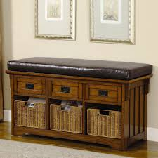 Small Storage Bench Storage Handsome Coaster Small Storage Bench With Upholstered Seat