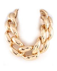 gold necklace chunky chain images Chunky gold chain necklace fashionable jewelry jpg