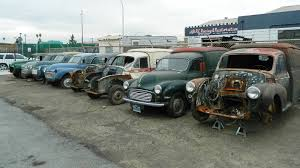 exclusive massive stash of morris minors