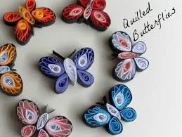 quilling designs how to make quilled butterflies paper quilling designs crafts