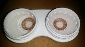 Light Brown Contact Lenses Lakwatserang Bulakenya Ideal Vision Fresh Look Contact Lenses