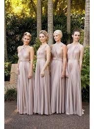 convertible bridesmaid dresses cheap chiffon convertible bridesmaid dresses ruffles sleeveless