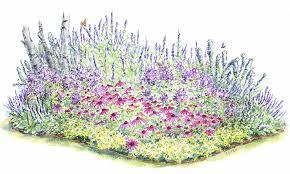 flower garden designs three season flower bed the old farmer u0027s