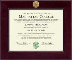 college diploma frame manhattan college century gold engraved diploma frame in cordova