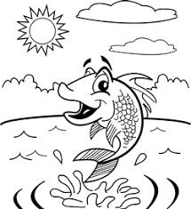 coloring pages aquarium tropical fish