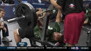 Tom Brady Combine Bench Press This Day In Football Stephen Paea Breaks Combine Bench Press