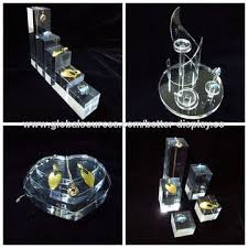 acrylic crystal ring holder images China luxury plastic acrylic jewelry ring display support holder jpg