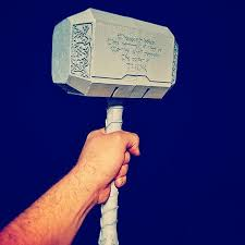 thor hammer 3d printed mjolnir facebook com letme3dprintthat let