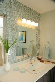 peaceful design ideas bathroom lighting and mirrors on intended