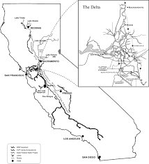 Sacramento California Map Callite California Central Valley Water Management Screening