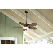harbor breeze tilghman ceiling fan shop harbor breeze tilghman 52 in aged bronze outdoor downrod or