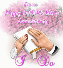 26th wedding anniversary glitter graphics the community for graphics enthusiasts