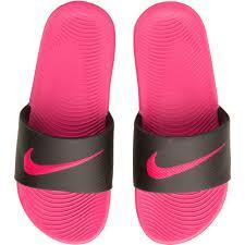 pink slides nike black pink nike kawa slide