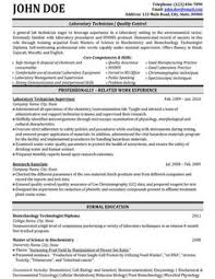 Entry Level Chemist Resume Resume For Research Lab Technician Entry Level Creative Resume