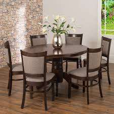 dining table set low price oliver 120cm dining table 6x mandy dining chairs decofurn