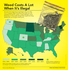 Colorado On The Us Map by Here U0027s Where To Find The Cheapest Weed In The U S Huffpost