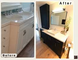 Bathroom Remodeling Contractors Orange County Ca Long Beach Black Contemporary Modern L Shaped Kitchen And Bathroom