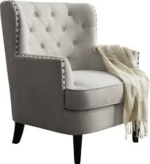 Accent Chairs Impressive Gray Accent Chair With Wingback Accent Chairs Youll