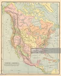 map of aboriginal tribes of north america pictures getty images