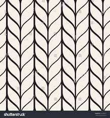 vector seamless pattern monochrome regular stylish stock vector