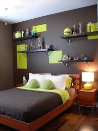 bedroom decor themes bedroom volley ball bedroom decor with green and black wall 20