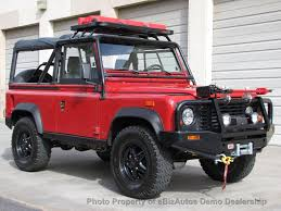 defender land rover for sale for sale immaculate 1994 land rover defender 90 scottsdale az