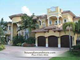 Spanish Style Homes Plans Spanish Style Homes Video 1 House Plans And More Youtube