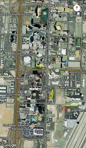 Las Vegas Hotel Map Aerial Photo Maps Of Las Vegas Massacre Site And Hotels