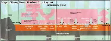 Gateway Floor Plan of hong kong harbor city layout