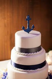 nautical cake toppers nautical wedding cake topperanchor wedding by morganthecreator