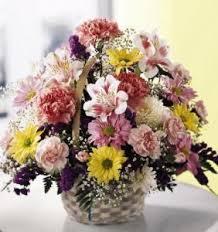 Order Flowers San Francisco - basket of cheer bouquet colma florist funeral flowers san