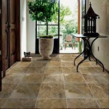 wonderful marble flooring tile with indoor green planter for