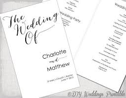 program booklets best 25 wedding ceremony booklet templates ideas on