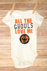 all the ghouls love me halloween baby boy boy halloween