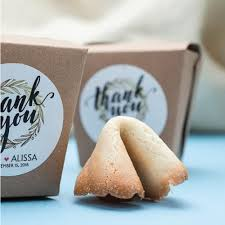 wedding favors personalized fortune cookie wedding favors gourmet wedding gifts