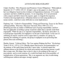 how to create an annotated bibliography writing research and