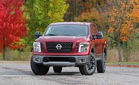 2017 nissan titan crew cab 2017 nissan titan in depth model review car and driver