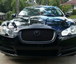 jaguar grill mydippedwhips jaguar xf blackout