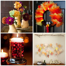 33 Easy Thanksgiving Crafts For Kids Thanksgiving Diy Ideas For Diy Thanksgiving Decorations For Adults Anti June Cleaver
