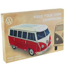 volkswagen camper pink impossipuzzle cubes camper vans amazon co uk toys u0026 games