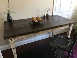 reclaimed wood farmhouse table barn wood furniture custom made in east bay area reclaimed wood