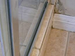 Leaking Shower Door Glass Shower Leaking Mold On Wall Can T Determine Where The Leak Is