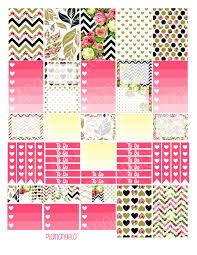 To Do Stickers Ombre Checklist Boxes Printable Stickers For The Mambi Idealpin